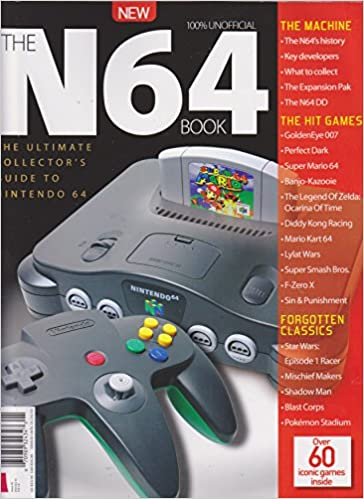 The N64 Book Second Edition 2017 Amazon Com Books
