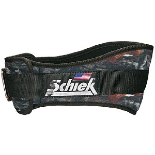 SCHIEK CAMO SUPPORT BELT MOTHWING CAMO MEDIUM