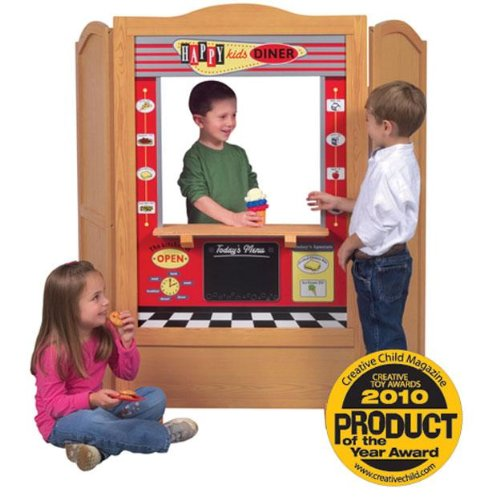 Guidecraft Wooden 4 In 1 Dramatic Play Theater by Guidecraft