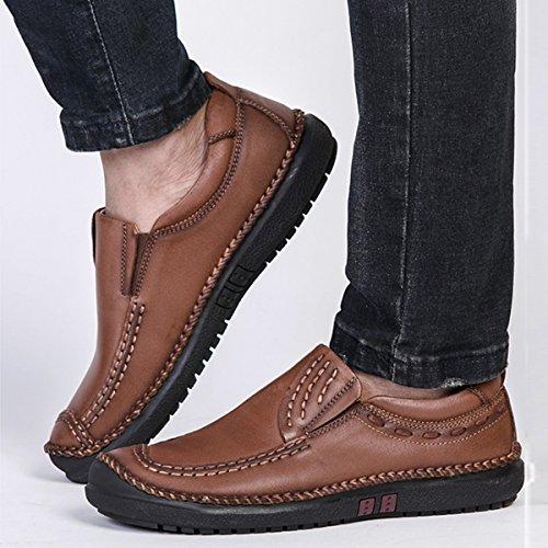 Miyoopark - zapatilla baja hombre marrón claro