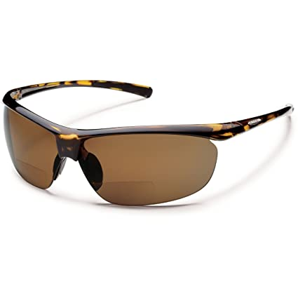 50070db9a47 Suncloud Zephyr Prescription Bifocal Reading Sunglasses - Tortoise Brown  Polarized +1.50