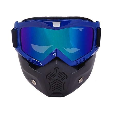 SAOJI Hombres Mujeres Esquí Snowboard Gafas de Moto de Nieve ...