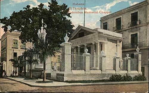 Columbus Memorial Chapel Havana, Cuba Original Vintage Postcard