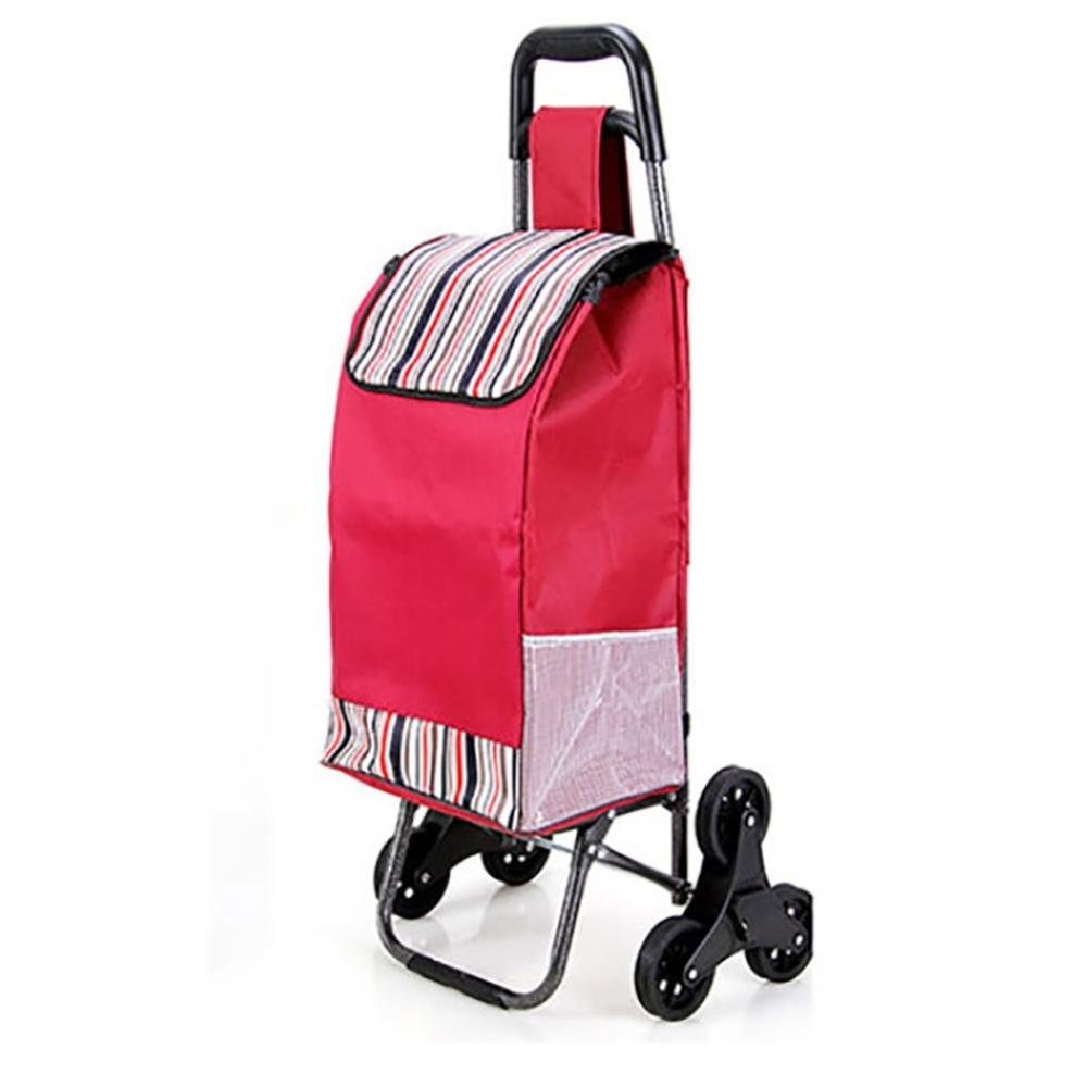 f08e8fd77cd9 HCC& Trolley Dolly Stair Climbing Rolling Shopping Grocery Foldable ...