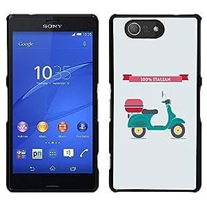 Dragon Case - FOR Sony Xperia Z3 Compact - it doesn't matter - Caja protectora de pl??stico duro de la cubierta Dise?¡Ào Slim Fit