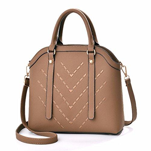 Onorevoli Borsetta tracolla messenger bag, marrone
