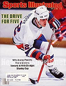 1984 Mike Bossy New York Islanders Sports Illustrated