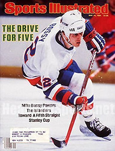 1984 Mike Bossy New York Islanders Sports (Mike Bossy Memorabilia)