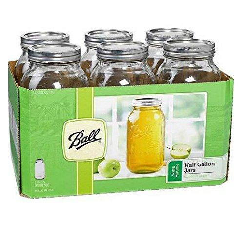 64 oz bell jars - 5