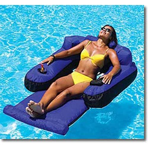 Ultimate Fabric Covered Lounger Swimming