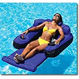 Ultimate Fabric Covered Lounger Swimming Pool Float by Swimline
