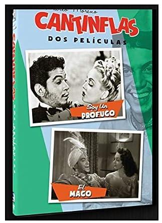 Cantinflas Dos Películas Soy Un Prófugo Y El Mago Mario Moreno Cantinflas Emilia Guiu Daniel Chino Herrera José Baviera Various Cine Y Tv