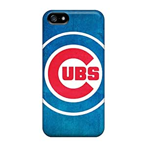 Iphone 5/5s Case Cover Chicago Cubs Logo Case - Eco-friendly Packaging
