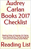 audrey carlan books 2017 checklist reading order of calendar girl series lotus house series the falling series and list of all audrey carlan books