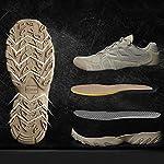 HJHHJHAB Bottes de l'armée Tactique Hommes Chaussures de Sport Basses imperméables Chaussures de randonnée en Plein air… 9