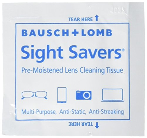 Bausch and Lomb Sight Savers Pre-Moistened Lens Cleaning Tissues -- 100 ct.