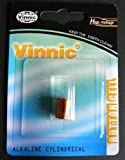 One (1) x Vinnic 11a L1016 Alkaline Battery 6v Blister Packed - Used in Doorbells, Car Key Remotes, Lighters, and many other applications