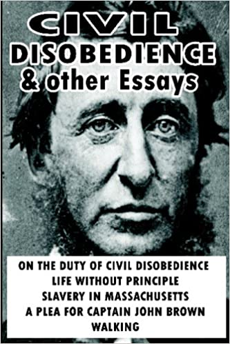 com civil disobedience and other essays  com civil disobedience and other essays 9781607961031 henry david thoreau books