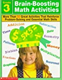 Brain-Boosting Math Activities, Professional Books Staff, 0590065580