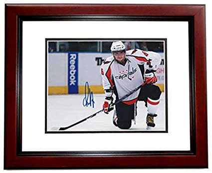 0e8bef9b062 Image Unavailable. Image not available for. Color  Alexander Ovechkin Signed  - Autographed Washington Capitals 8x10 ...