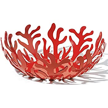 Alessi Mediterraneo 11-1/2-Inch Fruit Holder, Red