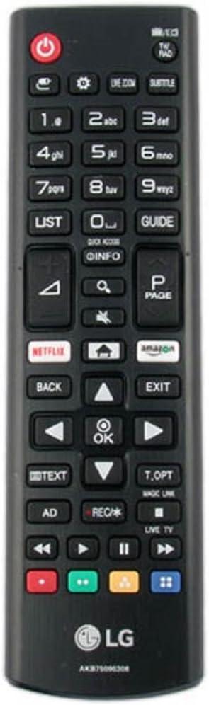 Mando original Universal LG AKB75095308 para cualquier Tv LG: Amazon.es: Electrónica