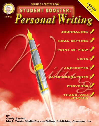 Student Booster: Personal Writing, Grades 4-8