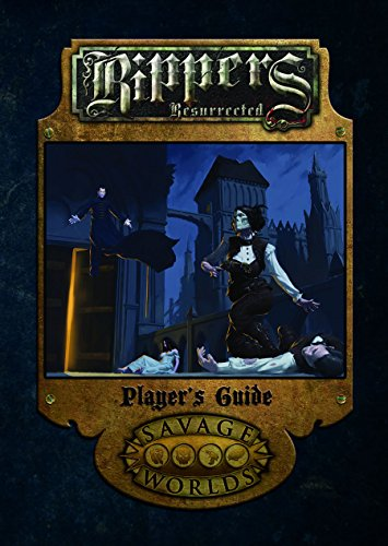 Rippers Resurrected Player's Guide (Softcover, S2P10320)