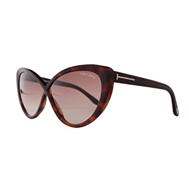 Amazon.com: Tom Ford Designer FT0253 52 F café Madison ...