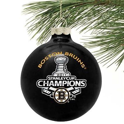 "Boston Bruins 2011 NHL Stanley Cup Champions Black 2 5/8"" Ornament () - Amazon.com : Boston Bruins 2011 NHL Stanley Cup Champions Black 2 5"