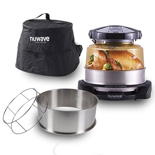NuWave 20529 Elite Infrared Oven and Accessories, Black