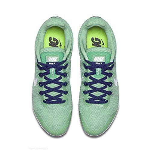 Nike Zoom Rival S 9 Spor Spike 907.564 Til 446 Grøn Glød / Hvid-dp Kongeblå gbxHgw