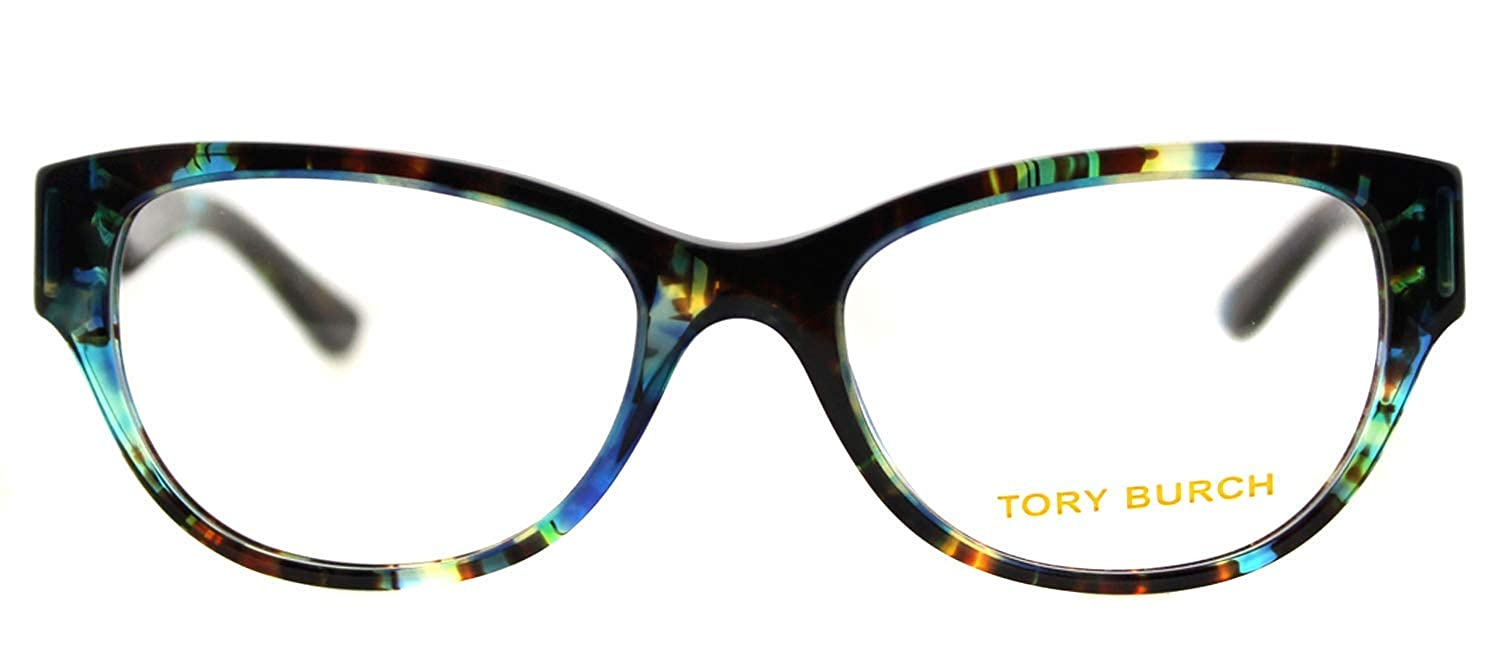 1c163dc204 Tory Burch TY2060 Eyeglass Frames 3145-50 - Blue Brown Tort TY2060-3145-50  at Amazon Women s Clothing store