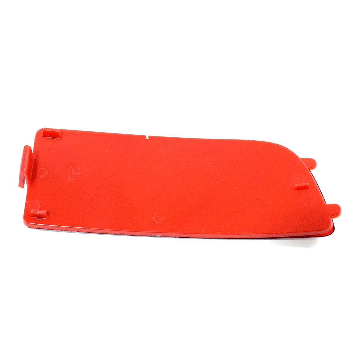 Lot de 2 r/éflecteurs de pare-chocs droit et gauche Rouge