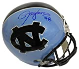 Lawrence Taylor Autographed North Carolina Tar Heel Full-Size Helmet cert - JSA Certified - Autographed College Helmets