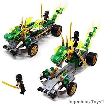 Ingenious Toys The Dragon Raider Guerrero Ninja - Compatible ...