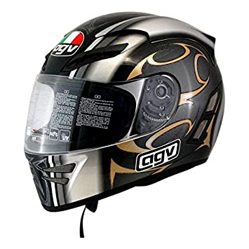 Amazon.es: Casco Moto integral AGV Stealth Dragon Gris/Oro