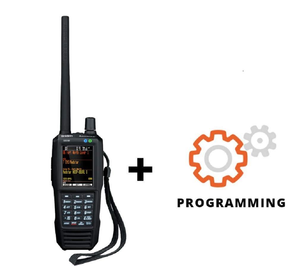 Uniden SDS100 Custom Programmed Phase II Digital Police Scanner