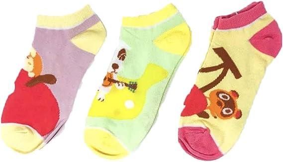 Animal Crossing Womens Juniors Ankle Socks 5 Pairs.