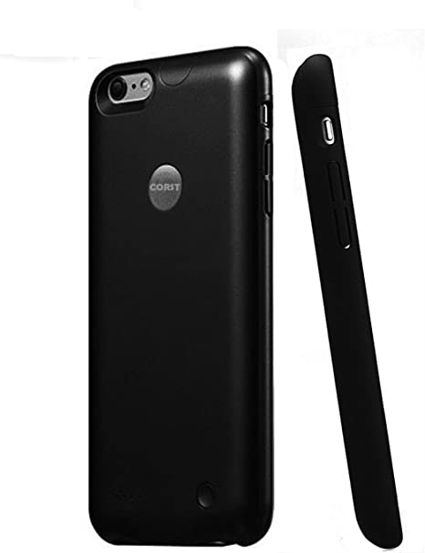 iPhone 6/6s battery case, corst® Slim 2500 mAh batería móvil Backup móvil batería externa Power Bank para Iphone 6/6s negro: Amazon.es: Hogar