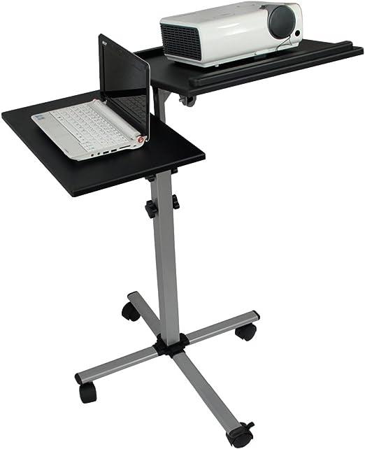 Systafex carro profesional para proyector y ordenador portátil ...