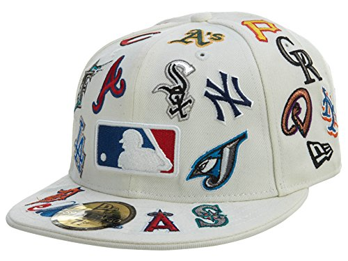 - New Era Mixed Teams New Era Fitted White 54 Style: HAT-54-WHITE Size: 7 3/8