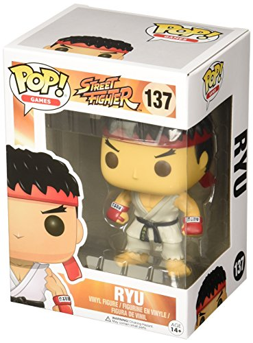 [Funko Street Fighter Ryu Pop Games Figure] (Ryu Costume)