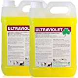 TheChemicalHut Ultraviolet Perfumed Cleaner and Disinfectant. Multi surface cleaner 10 Litres - Comes With TCH Anti-Bacterial Pen!