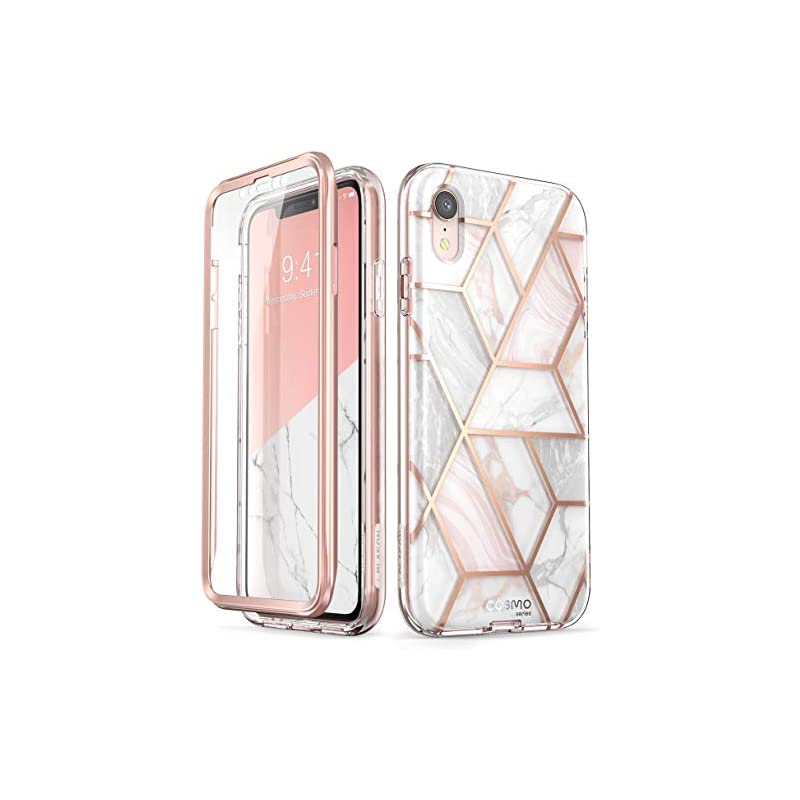 iPhone XR Case, [Built-in Screen Protect
