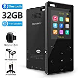 MP3 Player, 32GB MP3 Player with bluetooth4.2, Portable Lossless Digital Audio Player