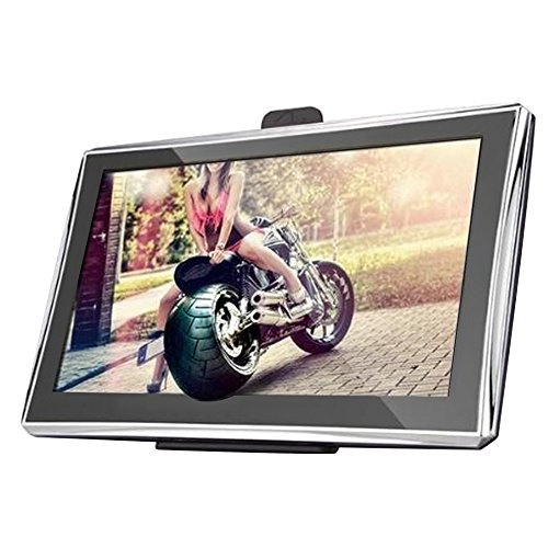Elisona-5 inch LCD Touch Screen 256MB + 8GB Car Sat Nav GPS Navigator with Preloaded Maps Europe Map