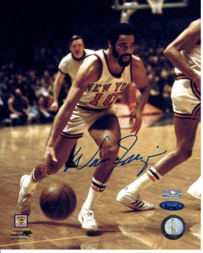 54b4633fec0 Image Unavailable. Image not available for. Color  Walt Frazier Autographed  Signed Auto New York Knicks ...