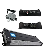 Gravity 8000.1D Class D Car Audio Amplifier - 8000 Watts, 1 Ohm Stable, Digital, Monoblock, Mosfet Power Supply,High & Low Level Input Great for Subwoofers (2nd Generation)