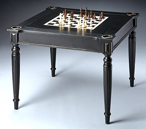 Butler Specialty Company Multi-Game Card Table, Black Lic...